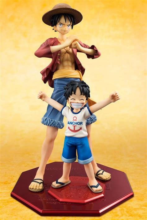 one pop mild kid luffy nico robin sanji figure