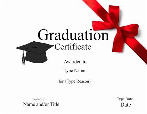 graduation gift card template graduation certificate template customize print