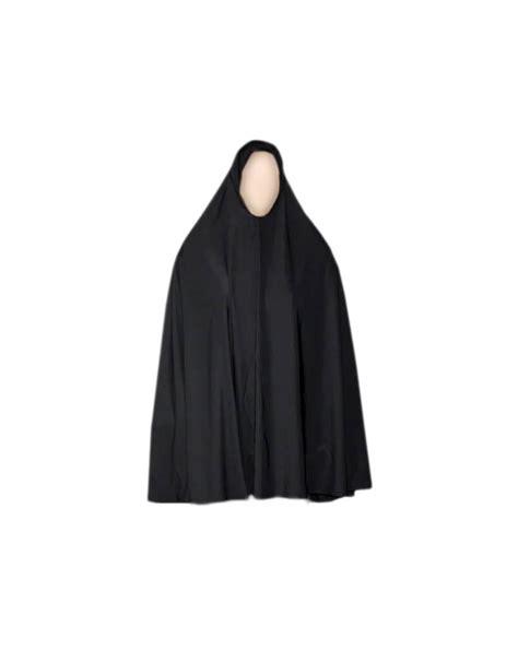Big Khimar Is big khimar headscarf in black stretchy style