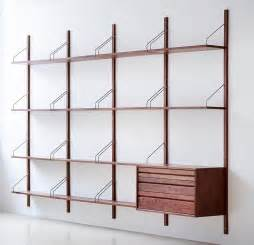 designer shelving systems royal system shelving designed by poul cadovius in 1948