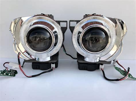 Projector Xenon 2x oem hid headlight bi xenon d1s light bulb projectors w