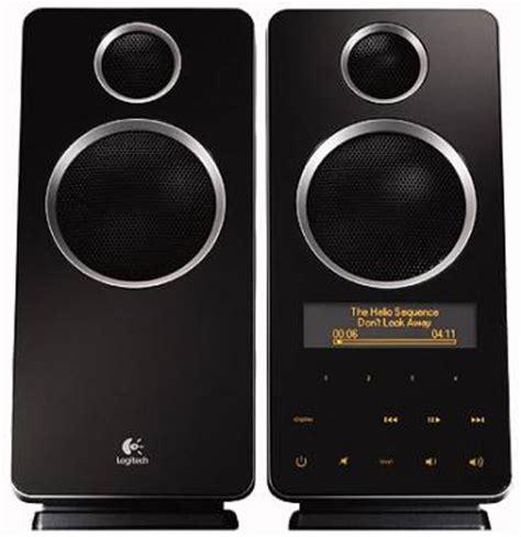 Speaker Z10 logitech z10 speakers reviewed 60w monoliths slashgear