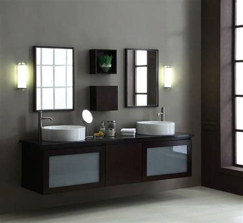 Floating Bathroom Cabinets Floating Bathroom Vanity 16 Photo Bathroom Designs Ideas