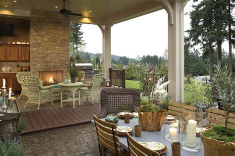 house plans with outdoor living space house plans with outdoor living spaces the house designers