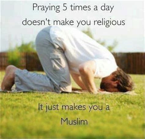 5times everyday best quotes about namaz salah praying five times a day
