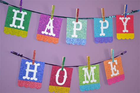 sis boom clip series happy home banner colorful