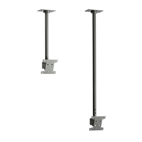 Ceiling Drop Tv Mount by Peerless Drop Ceiling Mount For 13 29 Inch Screens Black Or Silver Lcc