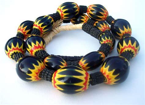 bead merchants of africa cool venetian chevron color combination