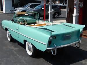 car boat convertible 1964 64 hicar convertible hibious boat car water