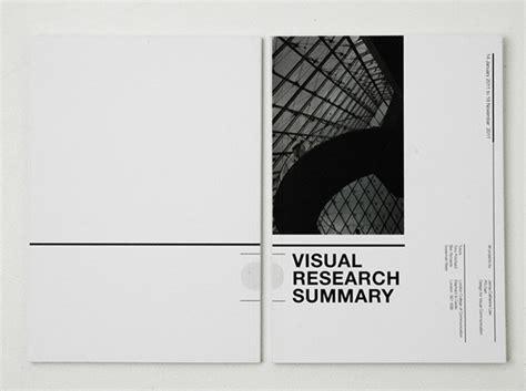 visual communication design research visual summary on behance