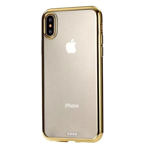 chrome case colorful chrome framed clear iphone x cases retailite