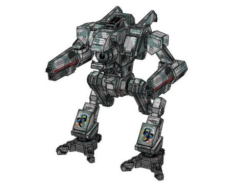 Mechwarrior Papercraft - new paper craft mechwarrior 4 wildcat mektek free