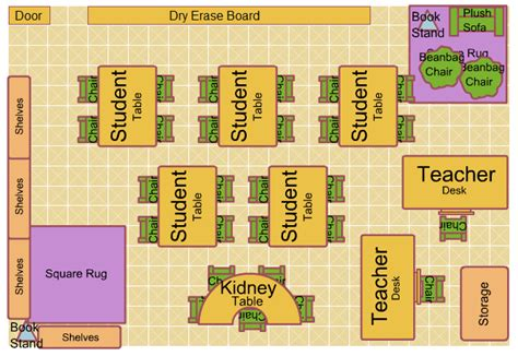 Floor Plan For Preschool Creating Classroom Climate Rebekah Mercer