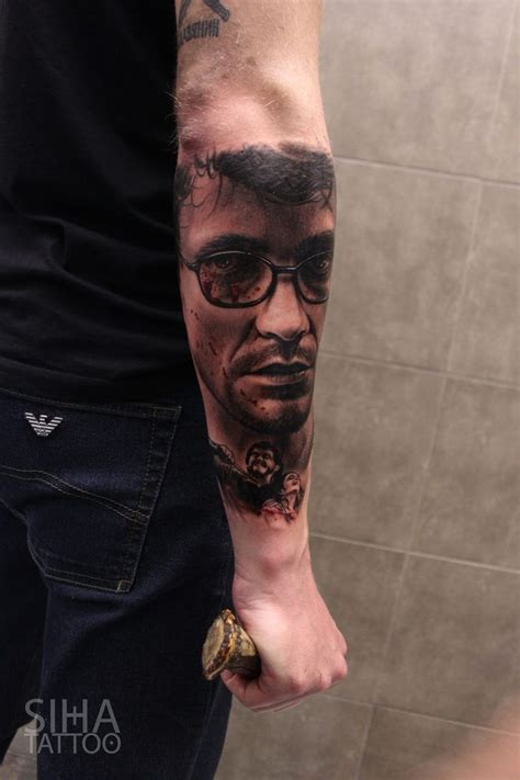 17 best images about portrait tattoos on kurt