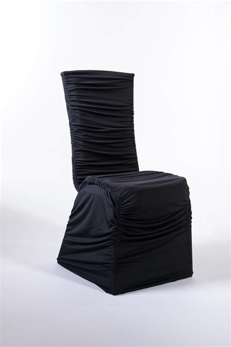 Spandex Chair Cover Rentals by Marianne S Rentals Spandex Chair Cover Ruched Black Rentals