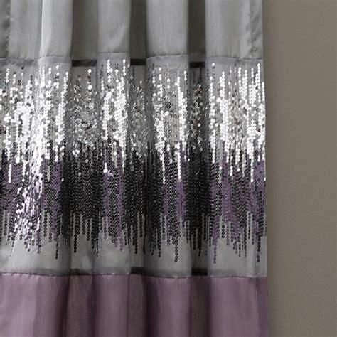 Purple And Grey Curtains Sky Window Curtain Purple Gray Lush Decor Www Lushdecor