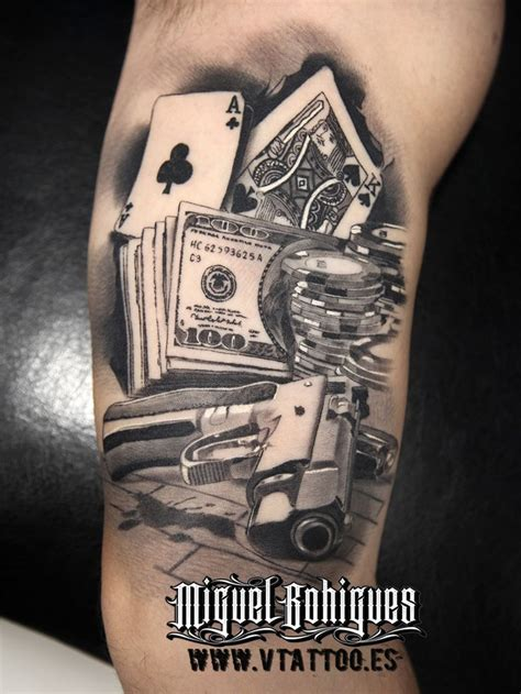 poker tattoos designs 25 best ideas about on