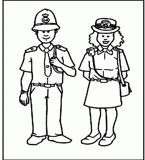 coloring pages with police coloring pages of police officers coloring home
