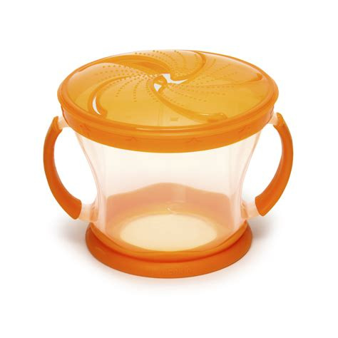 Hello Snack Bowl Baby munchkin snack catcher baby seal proof food storage bowl travel container sustuu