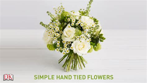simple floral arrangements flower arrangement tutorial simple hand tied flowers youtube