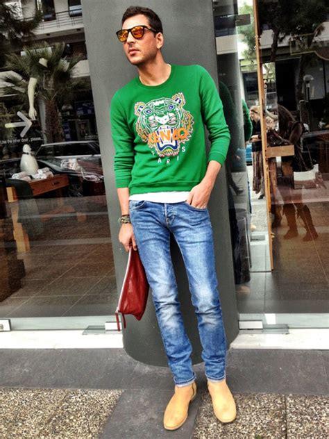 Kemeja New Kenzo Green sự l 234 n ng 244 i của 225 o sweater thế giới thời trang vn