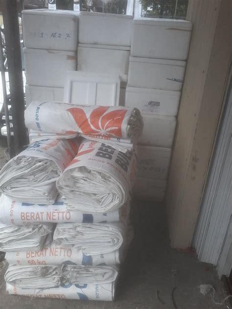 Jual Karung Goni Lembaran fatimah karung karung beras bulog 50kg