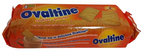 Afro Biscuit Liquid ovaltine cookies galletas 5oz pack of 6 caribbean traders