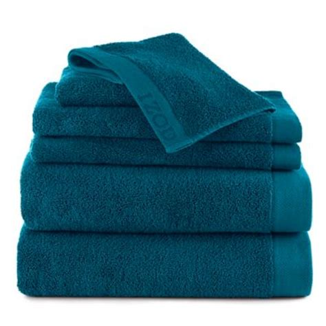 light teal bath towels buy izod 174 cotton towel in teal