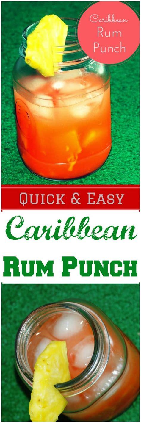 bru joy ultimate caribbean rum punch to work drink