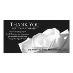 condolence thank you cards condolence thank you card