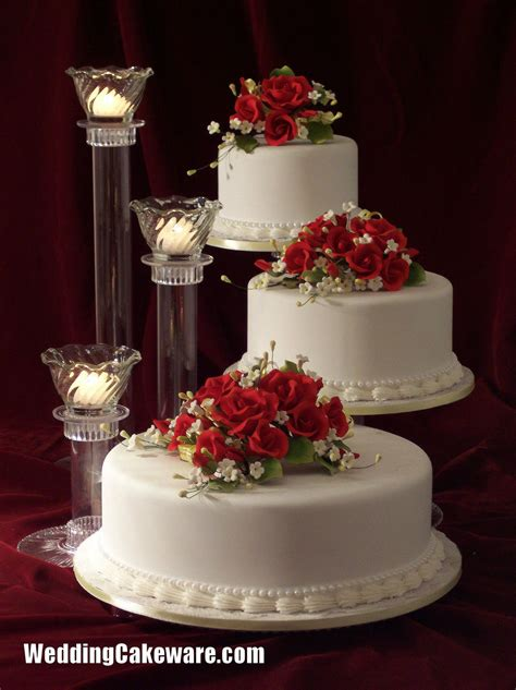wedding cake three tier stand 3 tier cascading wedding cake stand stands 3 tier candle