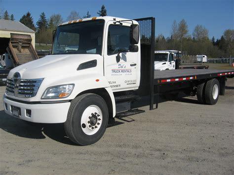 flatbed truck rentals del s truck rentals