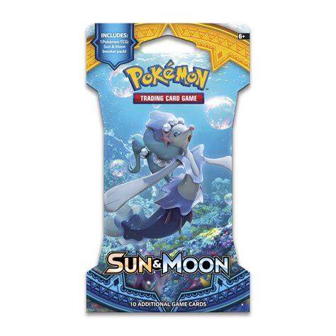 Tcg Sun Moon Booster Pack pok 233 mon tcg sun moon sleeved booster pack