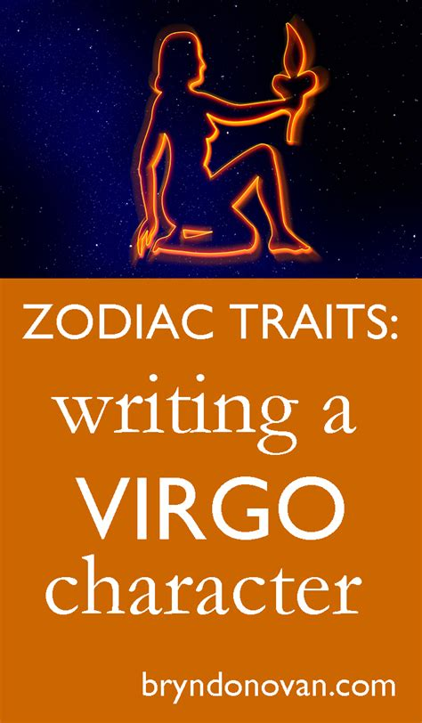 zodiac traits write a virgo character bryn donovan