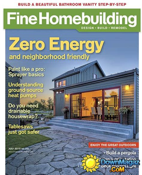 fine homebuilding magazine fine homebuilding usa june july 2015 187 download pdf