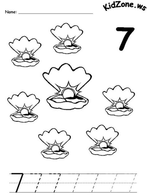 Number 7 Coloring Pages For Preschoolers by Preschool Color Matching Worksheet Worksheets For