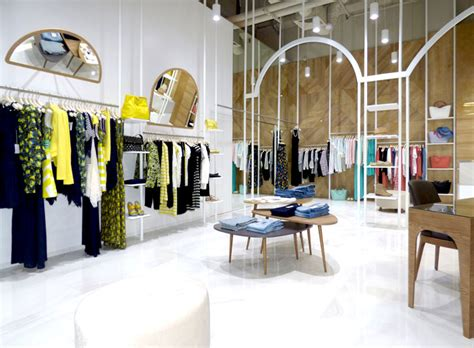 Dresses ? Modern Boutique Decor by Think Forward Design Studio InteriorZine