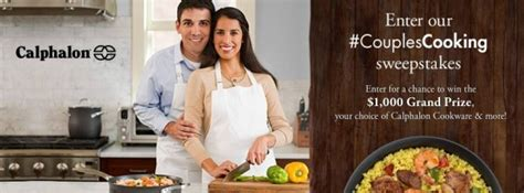 Calphalon Sweepstakes - calphalon giveaway winner couplescooking sweepstakes all things g d
