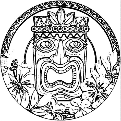 Coloring Page Hawaii by Hawaii Printable Coloring Pages Coloring Home