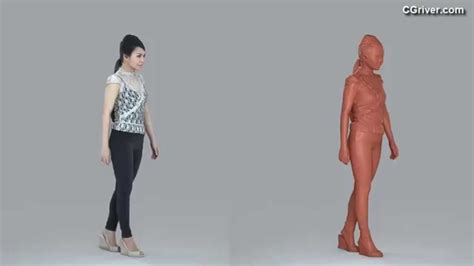 design by humans models 3d human model realistic young female for 3ds max cinema