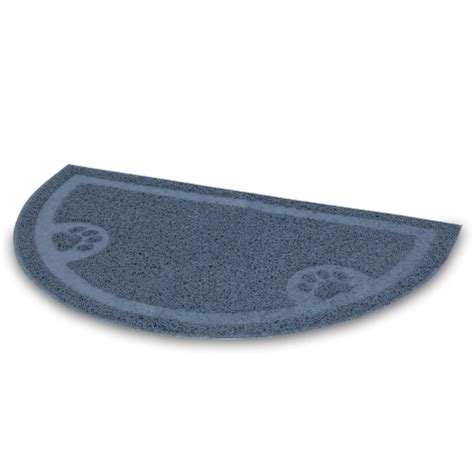 Petmate Litter Mat Reviews by Petmate Litter Catcher Mat 1 2 Circle