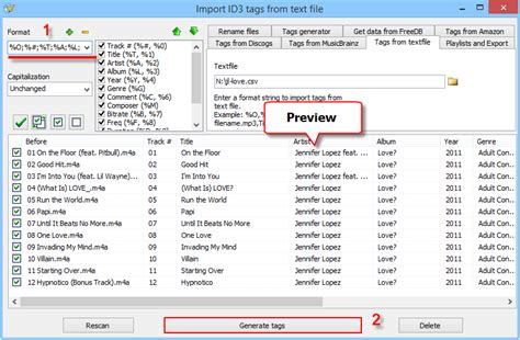 format csv import import tags from csv
