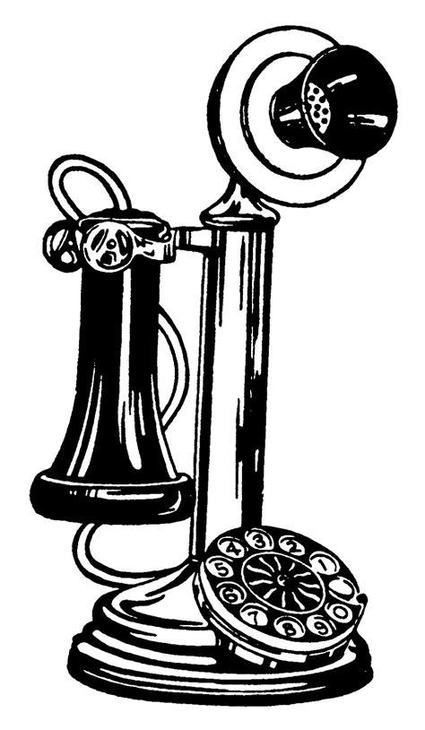 Vintage Bathtub by Old Fashioned Phone Clip Art 26