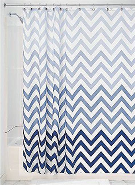 Chevron Shower Curtains Curtain Bath Outlet Ombre Chevron Fabric Shower Curtain