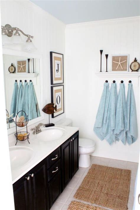 Coastal Bathrooms Ideas by Blue Coastal Bathroom Design Ideas