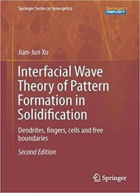 pattern formation in morphogenesis problems and mathematical issues interfacial wave theory of pattern formation in