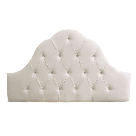 white headboard home decorators collection montpelier white headboard 862vwht the home depot