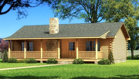 1 story log home plans ranch log home floor plans with baby nursery one story home house plans with wrap around