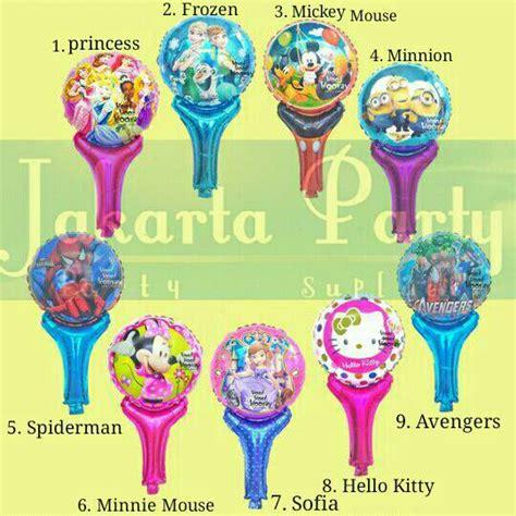Balon Pentung Balon Tongkat Doraemon Balon Souvenir Ultah Doraemon jual balon tongkat balon pentung balon