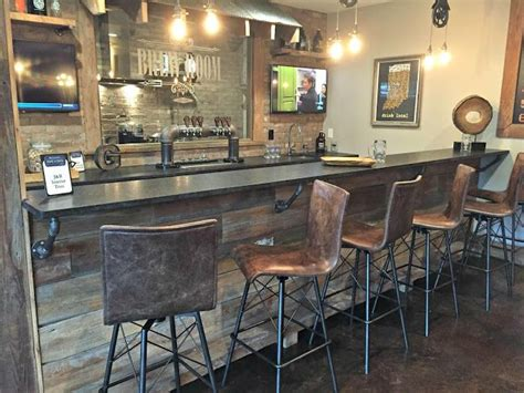 bar in basement best 25 rustic bars ideas on rustic basement